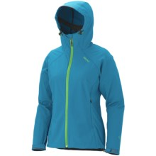 Marmot Up Track Jacket - Soft Shell (For Women) in Blue See - Closeouts
