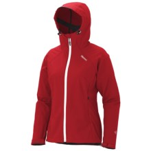 Marmot Up Track Jacket - Soft Shell (For Women) in Team Red - Closeouts