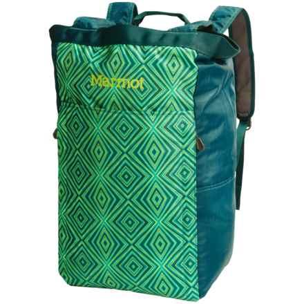 Marmot Urban Hauler Bag - Large in Deep Teal/Jewel Green - Closeouts