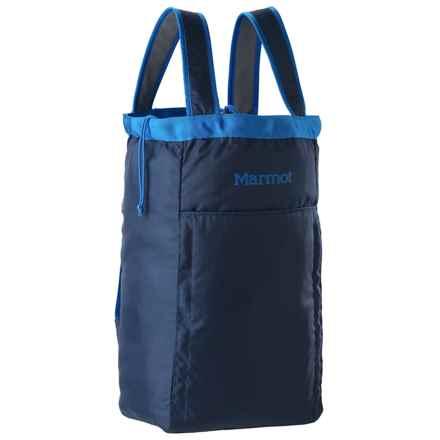 Marmot Urban Hauler Bag - Large in Vintage Navy/Cobalt Blue - Closeouts
