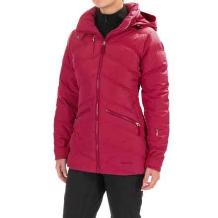 Marmot Val D'Sere Down Jacket - Waterproof, 700 Fill Power (For Women) in Dark Raspberry - Closeouts