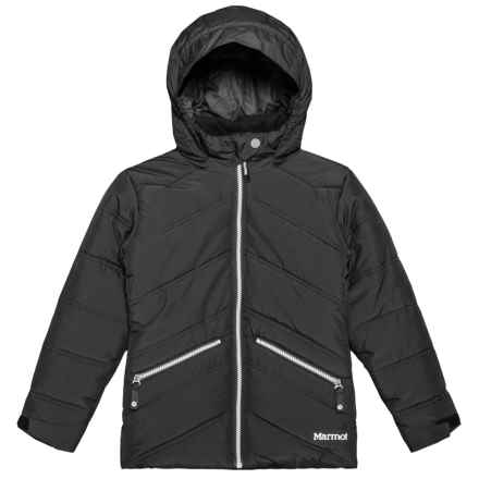 Marmot Val D'Sere Thermal R Ski Jacket - Waterproof, Insulated (For Little and Big Girls) in Black - Closeouts