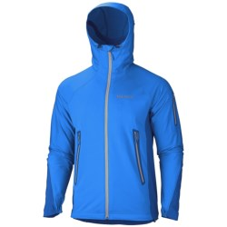 Marmot Vapor Trail Hooded  Soft Shel Jacket (For Men) in Cobalt Blue/Bright Navy