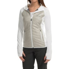 Marmot Variant Hooded Jacket - Polartec® Power Stretch®, Insulated (For Women) in Platinum/White - Closeouts