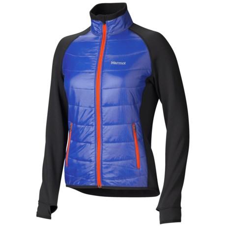 Marmot Variant Jacket - Polartec® Power Stretch® (For Women) in Astral Blue/Black