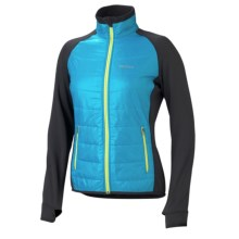 Marmot Variant Jacket - Polartec® Power Stretch® (For Women) in Blue Sea/Black - Closeouts