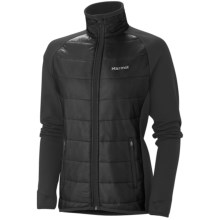 Marmot Variant Jacket - Polartec® Power Stretch® (For Women) in Jet Black - Closeouts