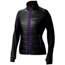 Marmot Variant Jacket - Polartec® Power Stretch® (For Women) in True Black - Closeouts