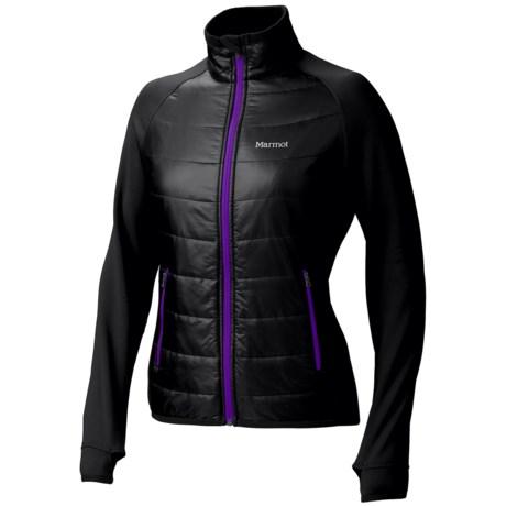 Marmot Variant Jacket - Polartec® Power Stretch® (For Women) in True Black