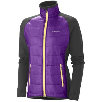 Marmot Variant Jacket - Polartec® Power Stretch® (For Women) in Vibrant Purple/Black