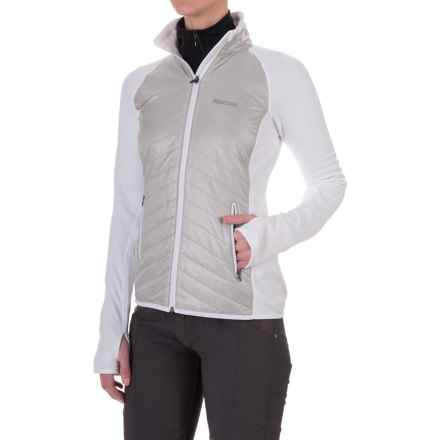 Marmot Variant Jacket - Polartec® Power Stretch®, Insulated (For Women) in Platinum/White - Closeouts