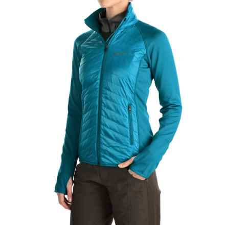 Marmot Variant Jacket - Polartec® Power Stretch®, Insulated (For Women) in Sea Breeze/Dark Atomic - Closeouts