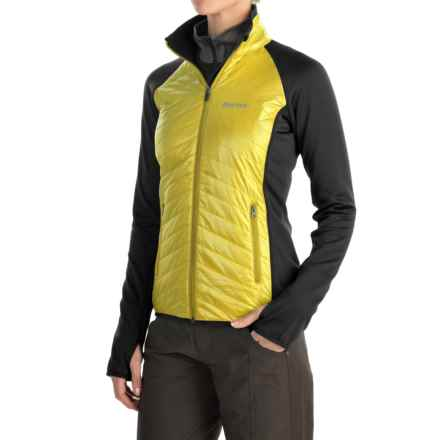 Marmot Variant Jacket - Polartec® Power Stretch®, Insulated (For Women) in Sunlight/Black - Closeouts