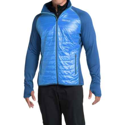 Marmot Variant Polartec® Power Stretch® Jacket - Insulated (For Men) in Cobalt Blue/Blue Night - Closeouts