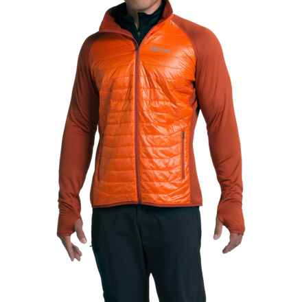 Marmot Variant Polartec® Power Stretch® Jacket - Insulated (For Men) in Sunset Orange/Dark Rust - Closeouts