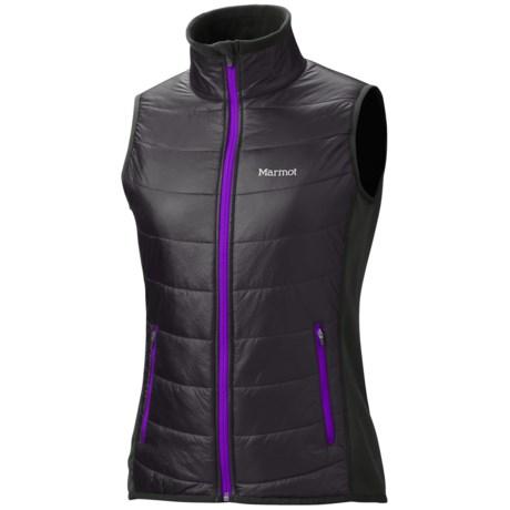 Marmot Variant Vest - Polartec® Power Stretch® (For Women) in Black