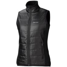 Marmot Variant Vest - Polartec® Power Stretch® (For Women) in Jet Black - Closeouts
