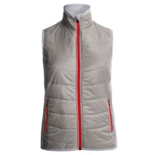 Marmot Variant Vest - Polartec® Power Stretch® (For Women) in Platinum/White - Closeouts