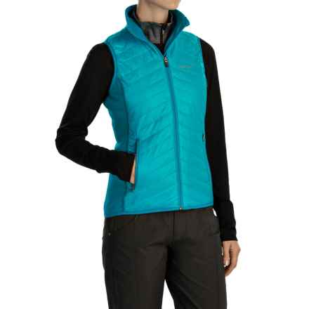 Marmot Variant Vest - Polartec® Power Stretch® (For Women) in Sea Breeze/Dark Atomic - Closeouts