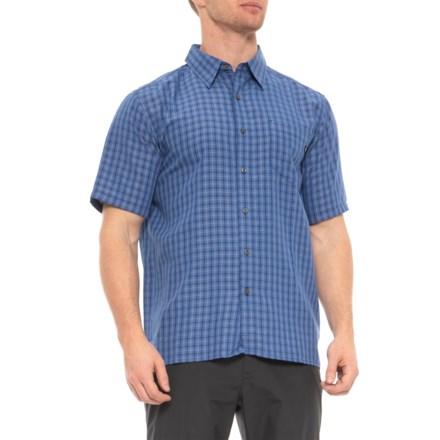 43d57ddf2e29 Marmot Varsity Blue Eldridge Shirt - UPF 20, Short Sleeve (For Men) in