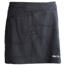 Marmot Velox Skort - UPF 30, Built-In Shorts (For Women) in Dark Steel Gradient - Closeouts