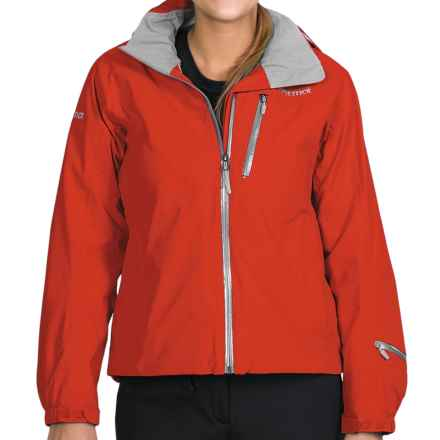 Marmot Verbier Ski Jacket - Waterproof (For Women) in Cherry Tomato - Closeouts