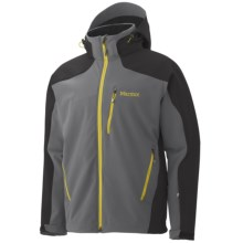 Marmot Vertical Jacket - Soft Shell (For Men) in Cinder/Dark Granite - Closeouts