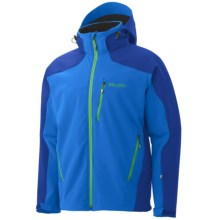 Marmot Vertical Jacket - Soft Shell (For Men) in Cobalt Blue/Bright Navy - Closeouts