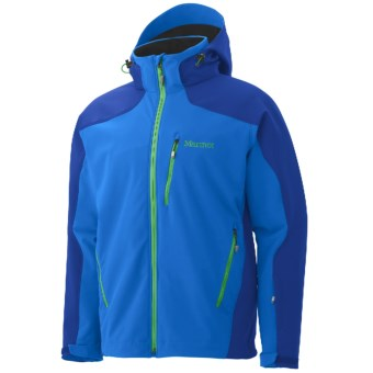 Marmot Vertical Jacket - Soft Shell (For Men) in Cobalt Blue/Bright Navy