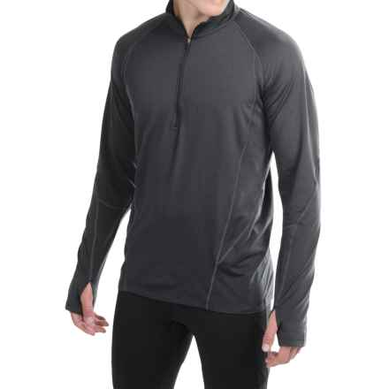 Marmot Verve Pullover Shirt - UPF 50, Zip Neck (For Men) in Black - Closeouts