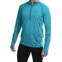 Marmot Verve Pullover Shirt - UPF 50, Zip Neck (For Men) in Mosaic Blue - Closeouts