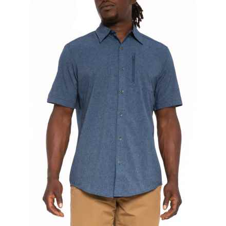 875e51513ade Marmot Vintage Navy Caecius Shirt - UPF 25, Short Sleeve (For Men) in