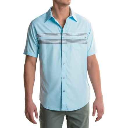 Marmot Vista Shirt - UPF 50, Short Sleeve (For Men) in Air Blue - Closeouts