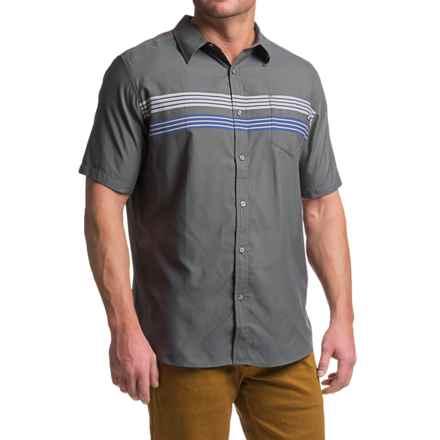 Marmot Vista Shirt - UPF 50, Short Sleeve (For Men) in Slate Grey - Closeouts