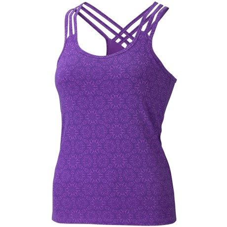 Marmot Vogue Tank Top - UPF 50, Stretch (For Women) in African Violet Moasaic