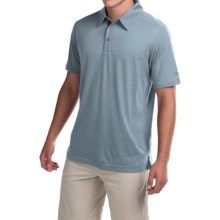 Marmot Wallace Polo Shirt - UPF 30, Short Sleeve (For Men) in Blue Granite - Closeouts