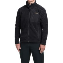 Marmot Warmlight Polartec® Classic Fleece Jacket (For Men) in Black - Closeouts