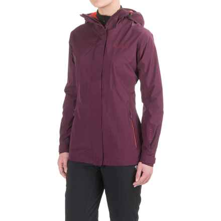 Marmot Wayfarer Gore-Tex® Rain Jacket - Waterproof (For Women) in Dark Purple - Closeouts