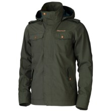 Marmot West Brook Jacket - Waterproof (For Men) in Forest Green - Closeouts
