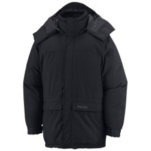 Marmot Whitehorse Down Parka - Waterproof, 650 Fill Power (For Men) in Black - Closeouts