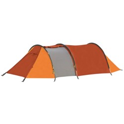 Marmot Widi 3P Tent with Footprint - 3-Person, 3-Season in Terra Cotta/Pale Pumpkin/Nickel