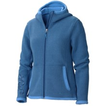 Marmot Wigi Hoodie Sweatshirt - Full Zip (For Women) in Blue Ink - Closeouts