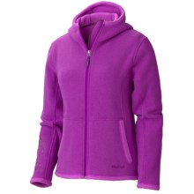 Marmot Wigi Hoodie Sweatshirt - Full Zip (For Women) in Bright Berry - Closeouts