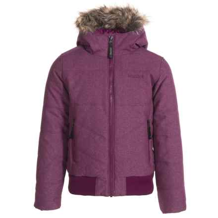 Marmot Williamsburg Jacket - Waterproof, Insulated (For Girls) in Deep Plum - Closeouts