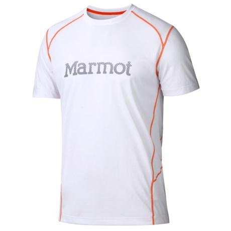 Marmot Windridge Graphic  T-Shirt - UPF 50, Short Sleeve (For Men) in White
