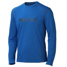 Marmot Windridge Shirt - UPF 50, Long Sleeve (For Men) in Peak Blue/Black - Closeouts