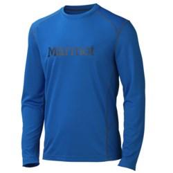 Marmot Windridge Shirt - UPF 50, Long Sleeve (For Men) in Peak Blue/Black