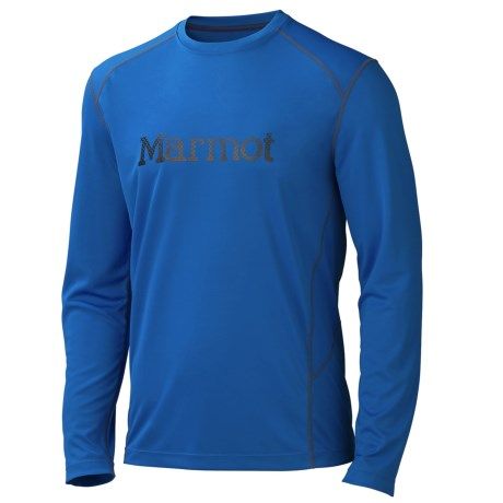 Marmot Windridge Shirt - UPF 50, Long Sleeve (For Men) in Peak Blue/Black