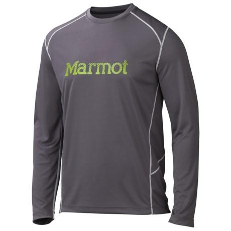 Marmot Windridge Shirt - UPF 50, Long Sleeve (For Men) in Slate Grey/Green Lichen