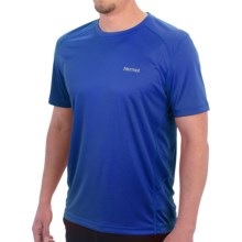 Marmot Windridge Shirt -  UPF 50, Short Sleeve (For Men) in Peak Blue - Closeouts